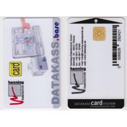Wertkarte für datakassCARDsystem, Chipkarte